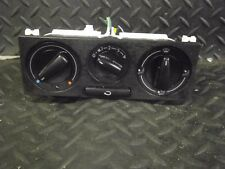 2000 VW GOLF 1.4 E 3DR HEATER CONTROL PANEL UNIT 1J0819045F