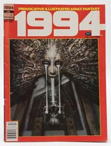 1994 (1994) #18 H.R. Giger Cover Nebres Nino Catan Thorne Warren Fantasy VG/FN