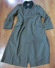 WWII GERMAN M36 M1936 WOOL OVERCOAT GREATCOAT- SIZE 4 (48R,50R)