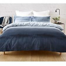 King Bed Blue Ombre Quilt / Doona Cover Pillow Case Set...coastal style