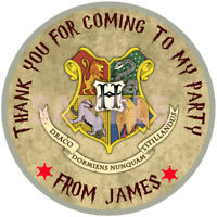 "30 x Personalised Harry Potter  50mm 2""party Stickers Party Thank You Seals"