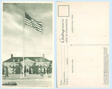Post Headquarters Fort Lewis Washington Postcard