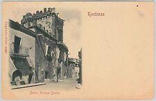 CARTOLINA d'Epoca - CATANIA provincia - Randazzo 1900