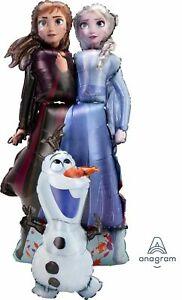 Disney Frozen 2 ANNA ELSA Air Walker Balloon Girls Birthday Party Decoration AWK