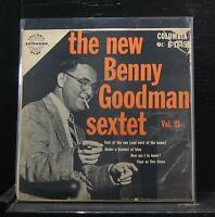 "The New Benny Goodman Sextet - Vol. III EP VG+ 7"" Vinyl 45 Columbia B-1845"