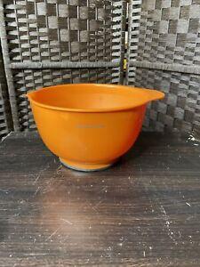Kitchen Aid 3.5 qt plastic Orange Mixing Bowl