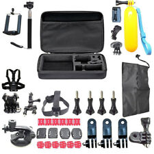 60 Pcs Accessories Set For GoPro Hero 2 3 3+ 4 5 SJCAM HeadChest Strap Pole UKED