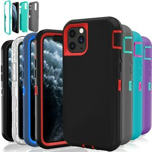 For iPhone 11 / 11 Pro Hybrid Case Protective Defender Shockproof Cover