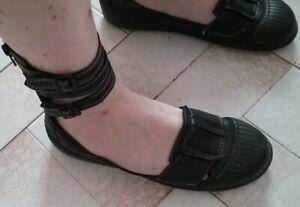Chaussures femme cuir noir PATAUGAS p 38