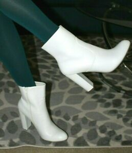 a new day Ankle Boots, Size 11, Ivory