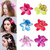 Bohemia Hairband Wedding Accessories Bridal Hairpins Flower Hair Clips Orchid