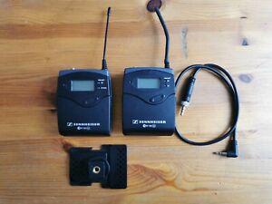 Sennheiser EW100 G2 D Bodypack Transmitter + Receiver  Funkstrecke UHF Wireless