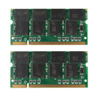 2GB PC2700 LAPTOP RAM MEMORY 2 x 1GB DDR 333 Mhz HP Dell inspiron 1150 8600 9200