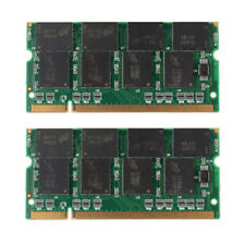 2GB PC2700 DDR LAPTOP MEMORY 333mhz SODIMM RAM sdram 200pin NOTEBOOK =  2 x 1gb