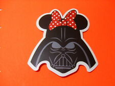 MINNIE VADER Sticker/ Decal Bumper Stickers Actual Pattern NEW