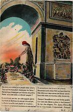CPA MILITAIRE Repose un Soldat Francais Mort pour la Patrie (315510)