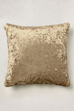"""24"""" LARGE LUXURY CRUSHED VELVET CUSHION COVER, OPTION OF HOLLOWFIBRE PAD FILLING"""