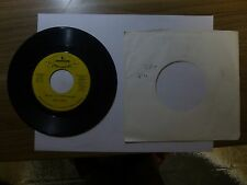 Old 45 RPM Record - Mercury CC-35031 - Tom T. Hall - Salute to a Switchblade / T