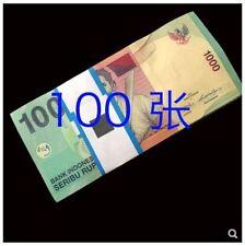 Indonesia 1000 Rupiah 100pcs (UNC) 全新 印度尼西亚1000卢比纸币 100张整刀 年份随机 老版