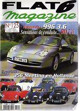 FLAT 6 125 PORSCHE 996 CARRERA 3.6 911 S 2.4 GEMBALLA TURBO GT 550 550CH