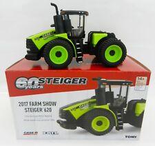 2017 FARM SHOW ED 1:64 ERTL *STEIGER 620* Black & Green 4WD Tractor w/DUALS NIB!