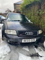 2003 Audi RS6 Quattro Bi Turbo Saloon C5 RARE Huge Spec