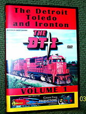 "20105 TRAIN VIDEO DVD ""THE DT&I RAILROAD"" VOL. 1 VINTAGE FILM"