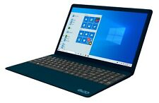 "Blue EVOO 15.6"" FHD Thin Laptop 1080p Intel i7 8GB RAM 256GB SSD Windows 10"
