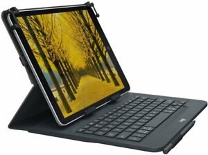 """Logitech Universal Folio with Integrated Bluetooth 3.0 Keyboard for 9-10""""..."""