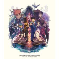 Professor Layton vs Ace Attorney Original Soundtrack Japan Game Music 3 CD NEW