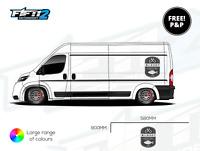 Huge Fishing Carp Van Graphics Vinyl Stickers Decals VW Transporter