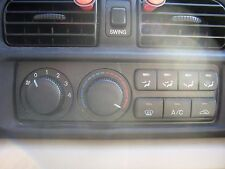 2000 MAZDA 626 ES HEATER AC  CONTROL   USED