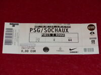 [COLLECTION SPORT FOOTBALL] TICKET PSG / SOCHAUX 4 AOUT 2007 Champ.France