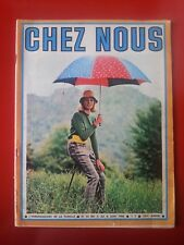 1966 revue CHEZ NOUS n°22 JULIETTE GRECO