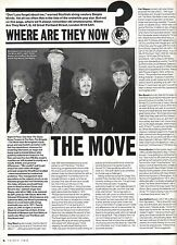 The MOVE / Roy Wood where are they now? UK ARTICLE / clipping