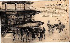 CPA Oh! la Sardine (186128)