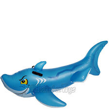 Intex Giant Friendly Shark Inflatable Swimming Pool Ride-On Raft - 56567