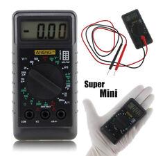 Mini DMM Digital LCD Multimeter OHM Test Voltmeter Amperemeter mit Summer Tool