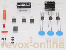 Reparatursatz, Revisionssatz für Studer Revox B790, Netzteil mit 3 PTCs und Plan