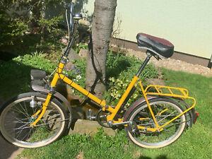 Mifa Klapprad Farbe Gelb, gebraucht, überholt und in gutem ZUstand