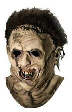 Rubies Texas Chainsaw Massacre Leather Face Latex Costume Halloween Mask 4156