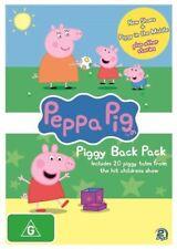Peppa Pig - Piggy Back Pack : Collection 2 (DVD, 2012, 2-Disc Set)