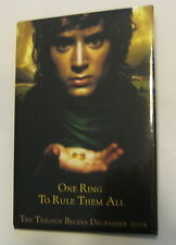 Lord of the Rings Frodo Rectangle Button NEW One Ring to Rule