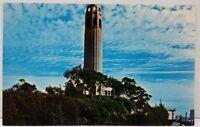 Coitus Tower San Francisco Postcard A8