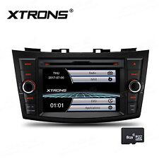 "7"" HD Car Stereo DVD Player GPS NAV Sat Radio BT SD USB For Suzuki Swift Ertiga"
