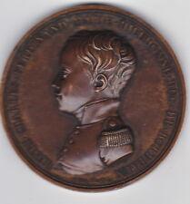 Médaille HENRI IV ,& HENRI V DUC de BORDEAUX ,HOMMAGE à la Ville de PAU 1827-28