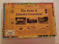 The Game Of Coventry Connecticut 1993 Board Game
