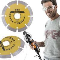 115mm 4.5'' Diamond Cutting Disc Saw Blade Wheel Concrete Stone Angle Grinder