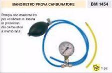 MANOMETRO TEST CARBURATORI sottovuoto vacuum vuoto prova carburatore COMPLETO