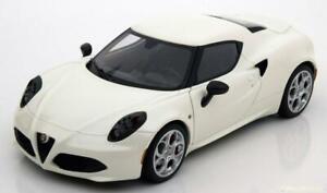 1:18 AUTOart Alfa Romeo 4C 2013 whitemetallic